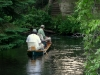Riverboat fishing on North Branch of the Au Sable