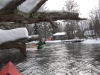 AuSable River\'s North Branch in Winter