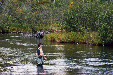 Ausable River Fly Fishing - Lovells Township