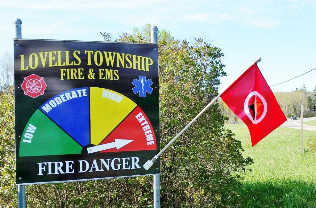 Fire Danger Level - Sign