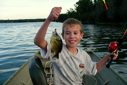 Kid Fishing - Lovells Township