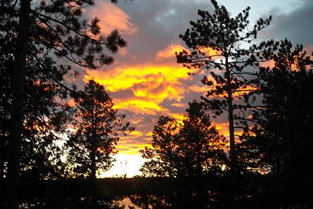 Sunset - Lovells Township